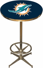 Imperial International Miami Dolphins Pub Table