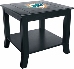 Imperial International Miami Dolphins Side Table