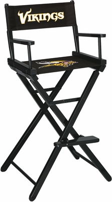 Imperial International Minnesota Vikings Bar Height Directors Chair
