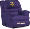 Imperial International Minnesota Vikings Big Daddy Microfiber Recliner