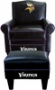 Imperial International Minnesota Vikings Game Time Chair & Ottoman