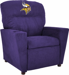 Imperial International Minnesota Vikings Kids Microfiber Recliner
