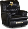 Imperial International Minnesota Vikings Leather Big Daddy Recliner