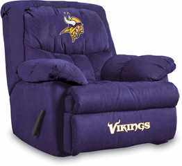 Imperial International Minnesota Vikings Microfiber Home Team Recliner
