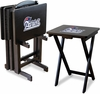 Imperial International New England Patriots 4 TV Trays With Stand