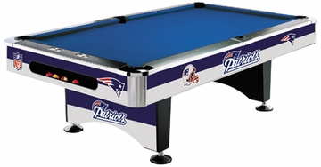 Imperial International New England Patriots 8' Pool Table