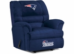 Imperial International New England Patriots Big Daddy Microfiber Recliner