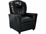 Imperial International New England Patriots Faux Leather Kids Recliner