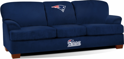 Imperial International New England Patriots First Team Microfiber Sofa