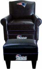 Imperial International New England Patriots Game Time Chair & Ottoman