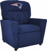 Imperial International New England Patriots Kids Microfiber Recliner