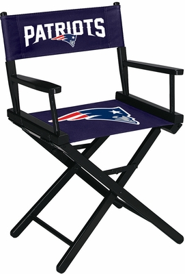 Imperial International New England Patriots Table Height Directors Chair
