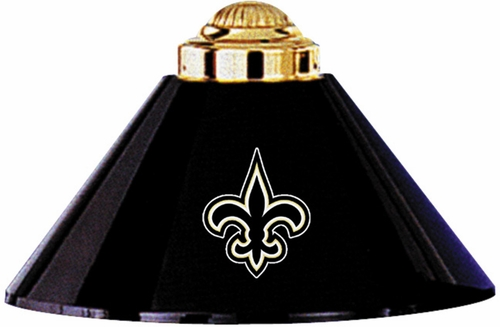 Imperial International New Orleans Saints 3 Shade Metal Lamp