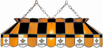 "Imperial International New Orleans Saints 40"" Glass Lamp"