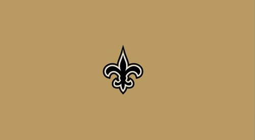 Imperial International New Orleans Saints 8' Billiard Cloth