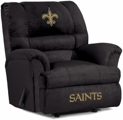 Imperial International New Orleans Saints Big Daddy Microfiber Recliner