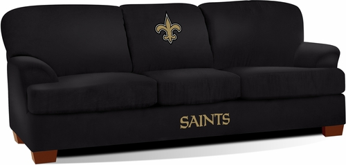 Imperial International New Orleans Saints First Team Microfiber Sofa