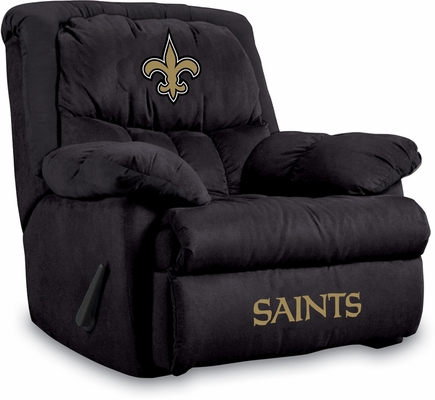 Imperial International New Orleans Saints Microfiber Home Team Recliner