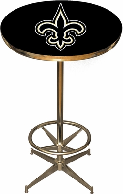 Imperial International New Orleans Saints Pub Table
