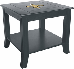 Imperial International New Orleans Saints Side Table
