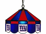 "Imperial International New York Giants 16"" Glass Lamp"