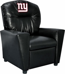 Imperial International New York Giants Faux Leather Kids Recliner