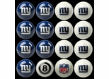 Imperial International New York Giants Home Versus Away Billiard Ball Set