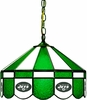 "Imperial International New York Jets 16"" Glass Lamp"