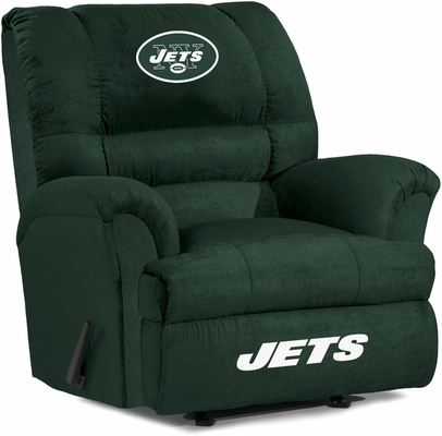 Imperial International New York Jets Big Daddy Microfiber Recliner