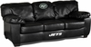 Imperial International New York Jets Black Leather Classic Sofa