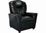 Imperial International New York Jets Faux Leather Kids Recliner