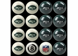 Imperial International New York Jets Home Versus Away Billiard Ball Set
