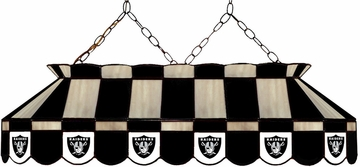 "Imperial International Oakland Raiders 40"" Glass Lamp"