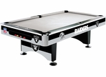 Imperial International Oakland Raiders 8' Pool Table