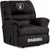 Imperial International Oakland Raiders Big Daddy Microfiber Recliner