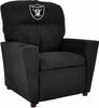 Imperial International Oakland Raiders Kids Microfiber Recliner