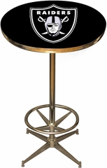 Imperial International Oakland Raiders Pub Table
