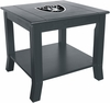 Imperial International Oakland Raiders Side Table