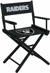 Imperial International Oakland Raiders Table Height Directors Chair