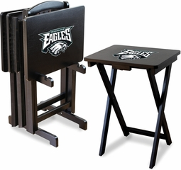 Imperial International Philadelphia Eagles 4 TV Trays With Stand