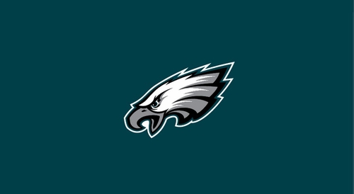 Imperial International Philadelphia Eagles 8' Billiard Cloth