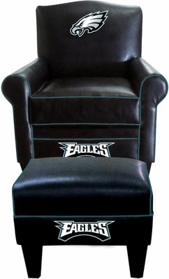Imperial International Philadelphia Eagles Game Time Chair & Ottoman
