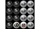 Imperial International Philadelphia Eagles Home Versus Away Billiard Ball Set