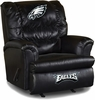 Imperial International Philadelphia Eagles Leather Big Daddy Recliner
