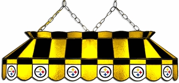 "Imperial International Pittsburgh Steelers 40"" Glass Lamp"