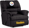 Imperial International Pittsburgh Steelers Big Daddy Microfiber Recliner