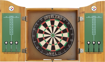 Imperial International Pittsburgh Steelers Dart Cabinet