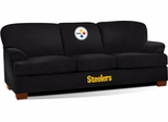 Imperial International Pittsburgh Steelers First Team Microfiber Sofa