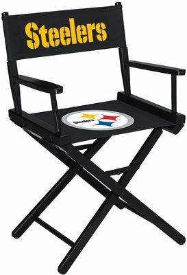 Imperial International Pittsburgh Steelers Table Height Directors Chair