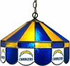 "Imperial International San Diego Chargers 16"" Glass Lamp"